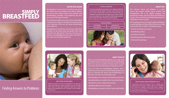 simply breastfeed pamphlets  u2013 la publishing